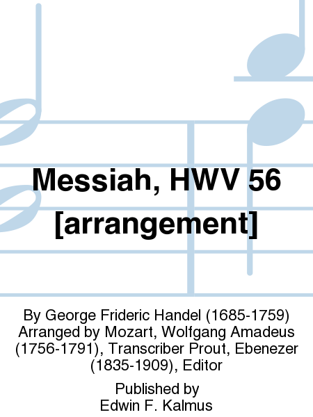 Messiah, HWV 56 [arrangement]