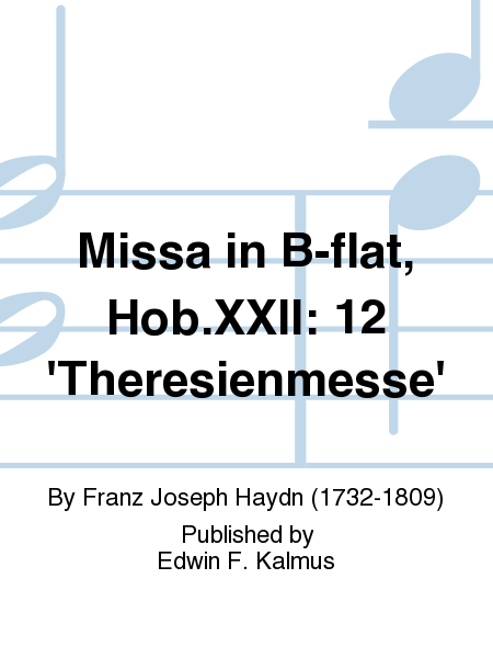 Missa in B-flat, Hob.XXII: 12 'Theresienmesse'