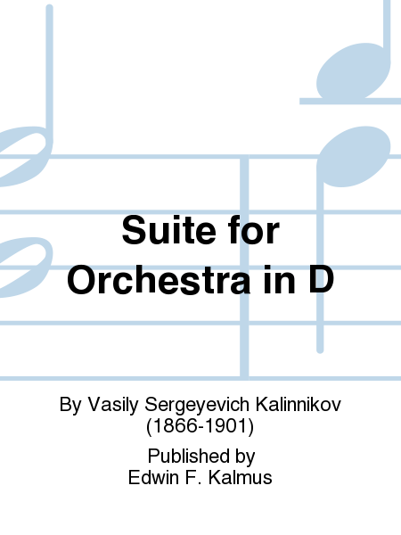 Suite for Orchestra in D