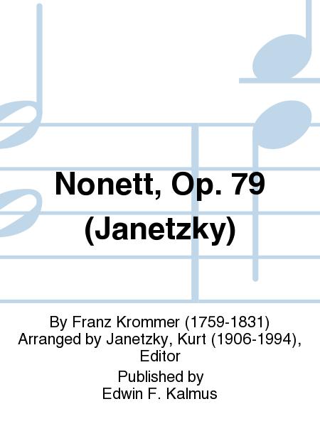 Nonett, Op. 79 (Janetzky)