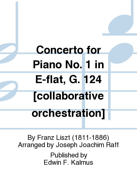 Concerto for Piano No. 1 in E-flat, G. 124 [collaborative orchestration]