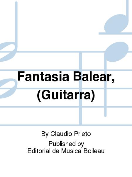 Fantasia Balear, (Guitarra)