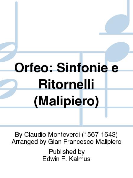 Orfeo: Sinfonie e Ritornelli (Malipiero)