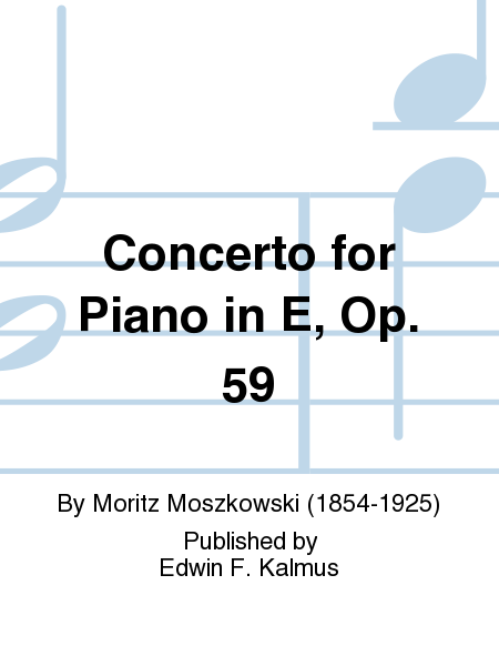 Concerto for Piano in E, Op. 59