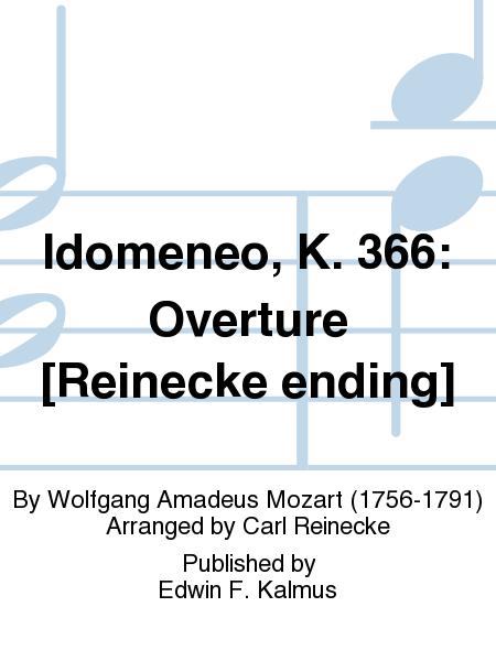 Idomeneo, K. 366: Overture [Reinecke ending]