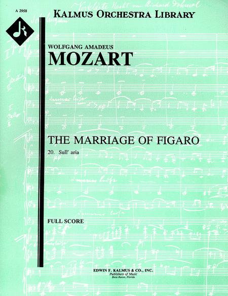 Le Nozze di Figaro, K. 492; No. 20: Act III, Duettino: Sull'aria; che soave (Letter duet - 2 sopranos)