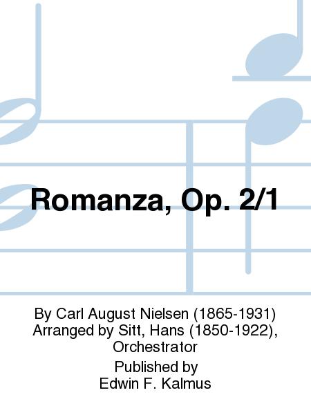 Romanza, Op. 2/1