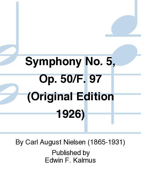 Symphony No. 5, Op. 50/F. 97 (Original Edition 1926)