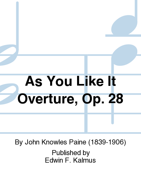 As You Like It Overture, Op. 28