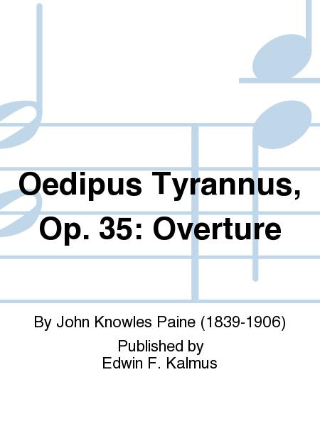 Oedipus Tyrannus, Op. 35: Overture