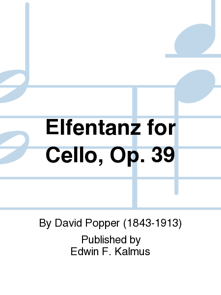 Elfentanz for Cello, Op. 39