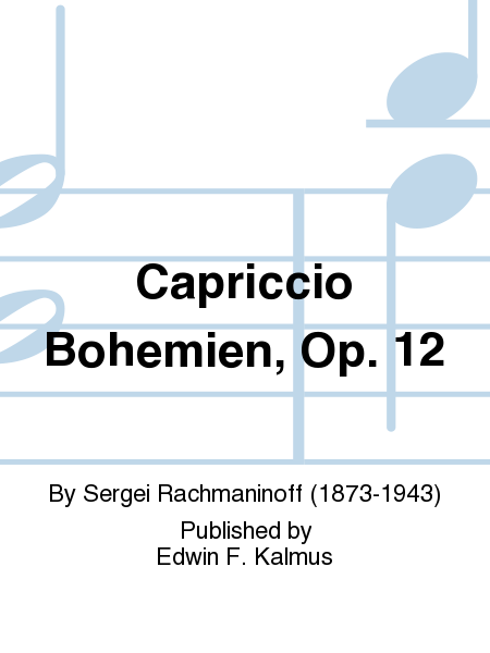 Capriccio Bohemien, Op. 12