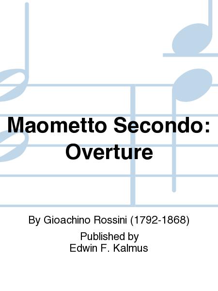 Maometto Secondo: Overture