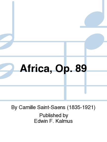 Africa, Op. 89