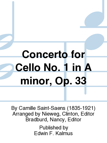 Concerto for Cello No. 1 in A minor, Op. 33