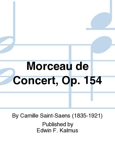 Morceau de Concert, Op. 154