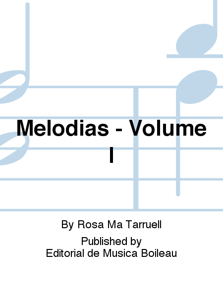 Melodias - Volume I