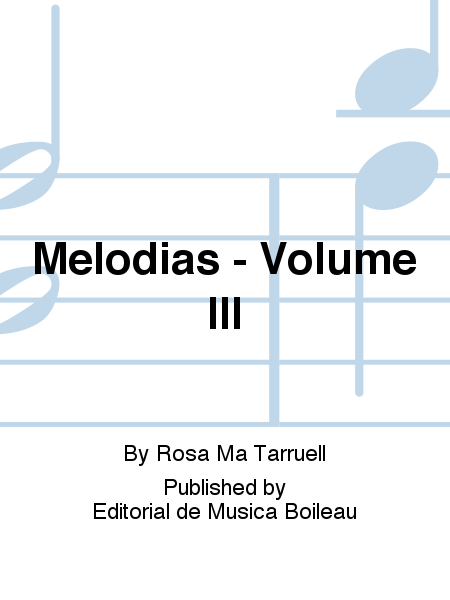 Melodias - Volume III