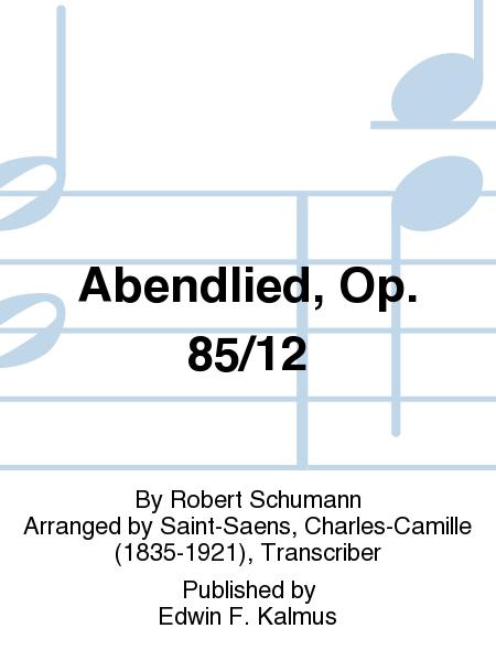 Abendlied, Op. 85/12