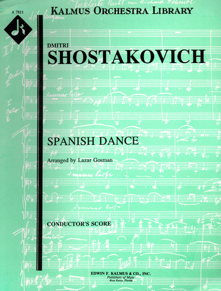 Spanish Dance, D. 580