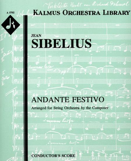 Andante Festivo, Op. 117a