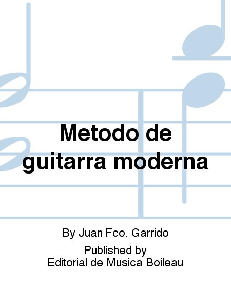 Metodo de guitarra moderna