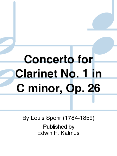 Concerto for Clarinet No. 1 in C minor, Op. 26