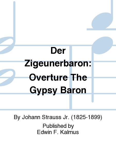 Der Zigeunerbaron Overture Full Score A2091