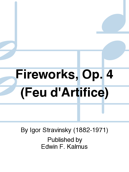 Fireworks, Op. 4 (Feu d'Artifice)