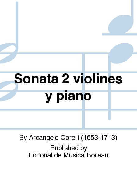 Sonata 2 violines y piano