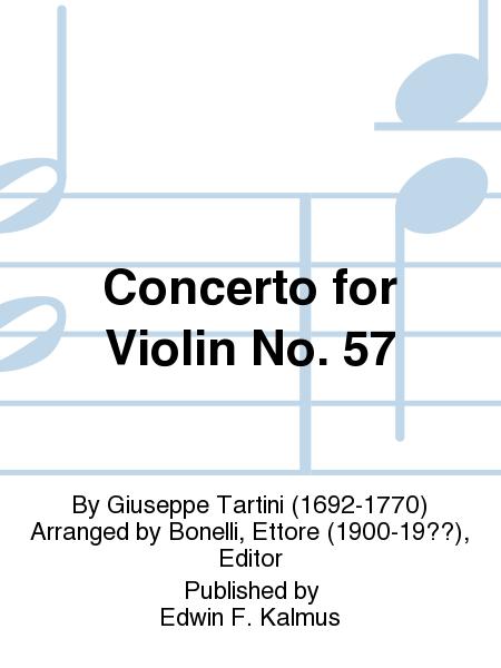 Concerto for Violin No. 57