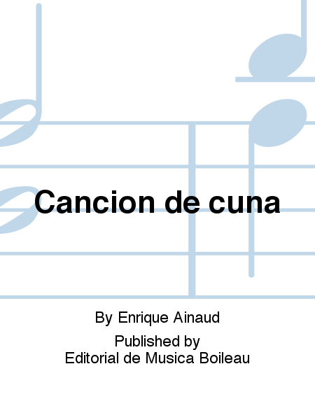 Cancion de cuna