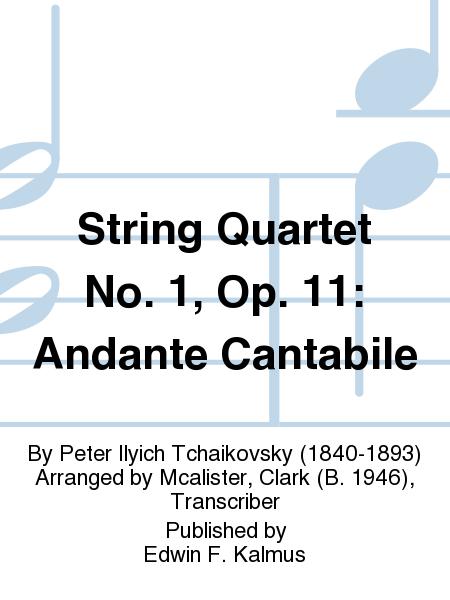 String Quartet No. 1, Op. 11: Andante Cantabile