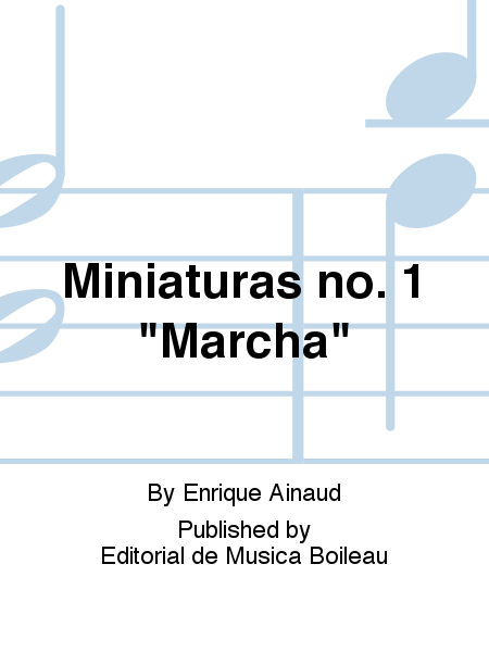 Miniaturas no. 1