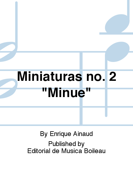 Miniaturas no. 2
