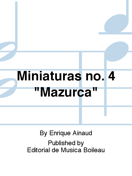 Miniaturas no. 4