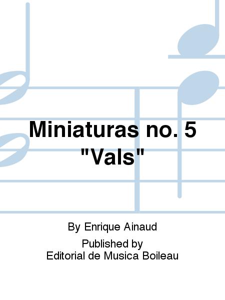 Miniaturas no. 5