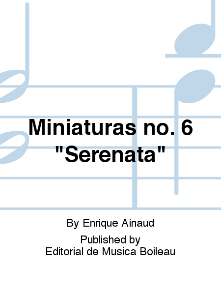 Miniaturas no. 6