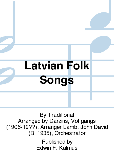 Latvian Folk Songs