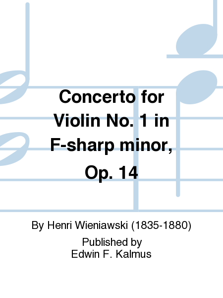 Concerto for Violin No. 1 in F-sharp minor, Op. 14