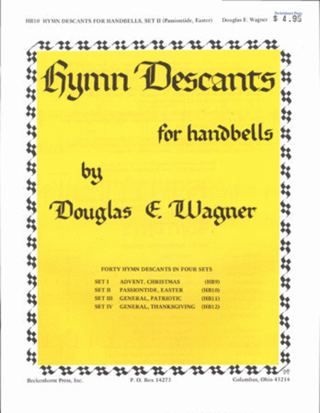 Hymn Descants for Handbells Set II - Passion/Easter