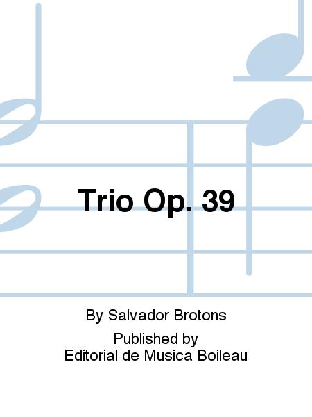 Trio Op. 39