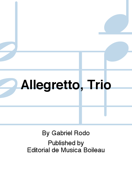 Allegretto, Trio