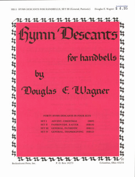Hymn Descants for Handbells Set III