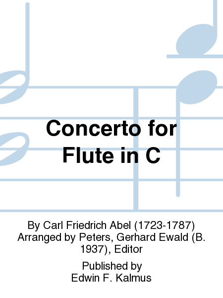 Concerto for Flute in C
