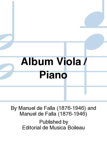 Album Viola / Piano