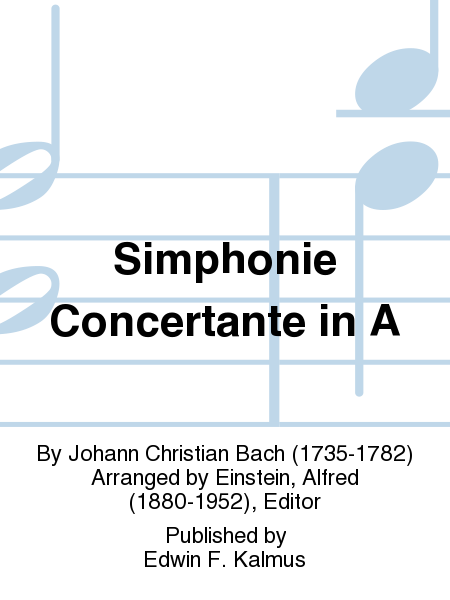 Simphonie Concertante in A
