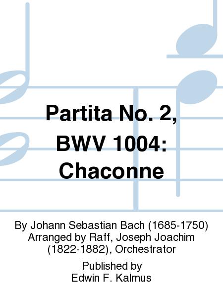 Partita No. 2, BWV 1004: Chaconne