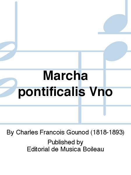 Marcha pontificalis Vno