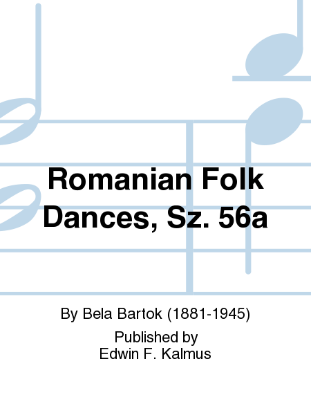 Romanian Folk Dances, Sz. 56a